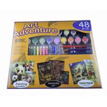 Kinder Kinder Wasser Farbe Nummer Zeichnung, Malerei Set Kits