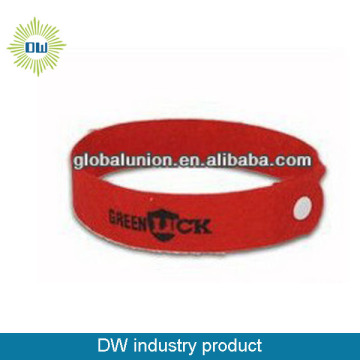 colorful silicone mosquito repellent bracelet