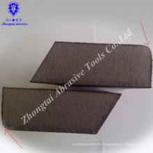Radian con ángulo de alta densidad mano esponja lijado bloque