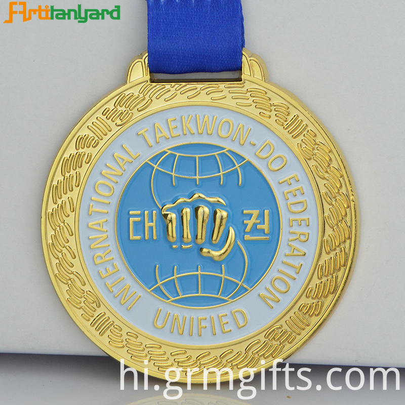 Custom Gold Medal