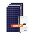 2019 Top vente haute efficacité Grid Tied 12BB panneau solaire Système solaire domestique Système domestique 5kw Système d'alimentation solaire maison en promotion