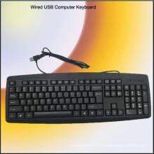 Бесплатный образец обычный настольный компьютер Клавиатура (КБ-1805)