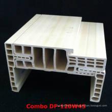Комбинированный дверной каркас с дверной коробкой WPC с WPC Architrave Df-120W45