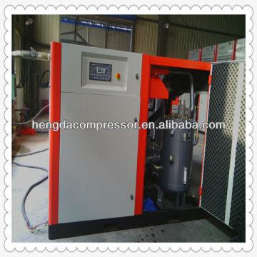Compresseur d'air libre d'huile de transmission de la courroie 90kw