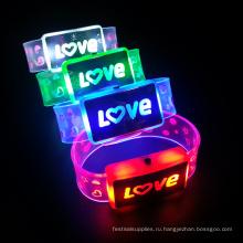 новые любовные товара светодиодные буквы браслет для свадьбы