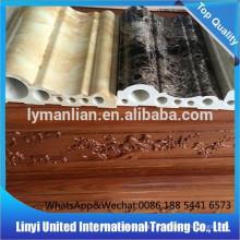 PVC moldura de corona Artificial de plástico compuesto de plástico pvc piso zócalo
