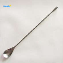 Stainless steel Bar Tool teardrop Bar Mixing spoon