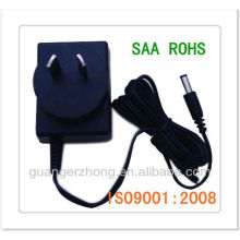SAA plug linear power adapter power supply 7.2V 350 mA