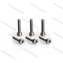 Customized CNC M2 M3 Black Titanium button screw