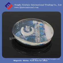 Aimant de réfrigérateur / Magnetic Memo Push Pins pour bureau
