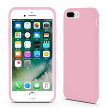 Adorable Pink Liquid Silicone Rubber iPhone8
