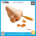 Novedad diversión nariz sacapuntas de lápiz mordaza regalo de cerámica