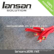 LANSAN Câble anti-vol rouge d'alarme à domicile