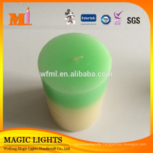 Popular New Personalized Professional Produce Square Taper Candles
