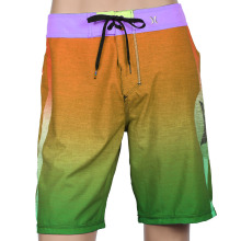 Poliéster de alta qualidade Spandex Custom Board Shorts Sem Marca