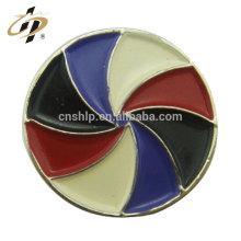 Novos produtos baratos personalizado moda metal cores esmalte abotoaduras para homem