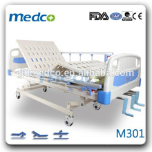 Три функции ручной больничной койки больницы кровати больницы кровати кровати M301
