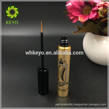 customize aluminum eyeliner tubes packaging eyelash glue bottle