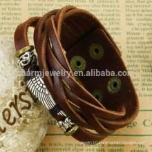 2015 new retro multilayer bracelet men casual leather bracelet bracelet fly PH792