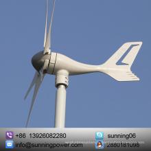 300 Вт микро-ветровой турбины генератора 12 В/24 В DC 5 лезвия нейлон волокна, жилого хозяйства морской DIY установки решетки-Зеленая Энергия