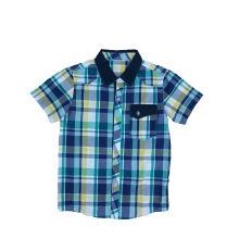 Рубашка мальчика способа 2016 в одеждах детей (BS027)