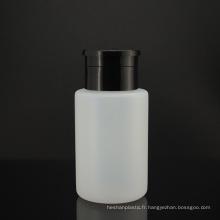 Bouteille de distributeur de dissolvant de vernis à ongles vide de 180 ml