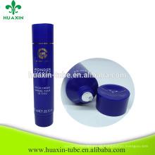 Cosméticos azul 25ml plástico embalaje crema vacía PE tubos