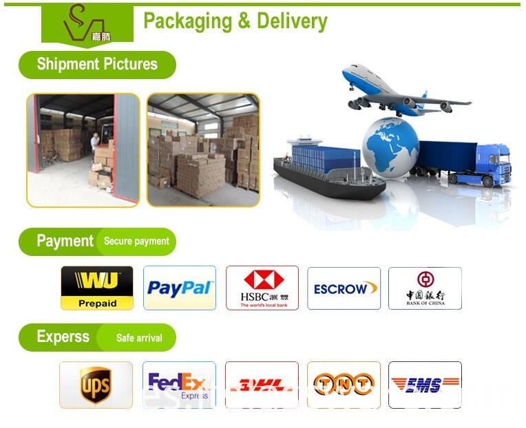 Packageing payment and courier