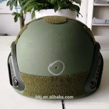Matériau Minimal Antibullet PE Casque NIJ IIIA 0101.06 Bulletproof Helmet / Ballistic