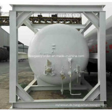 20FT / 0.7MPa LNG ISO-Behälter-Behälter ASME