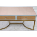 Glass storage coffee table can be customized