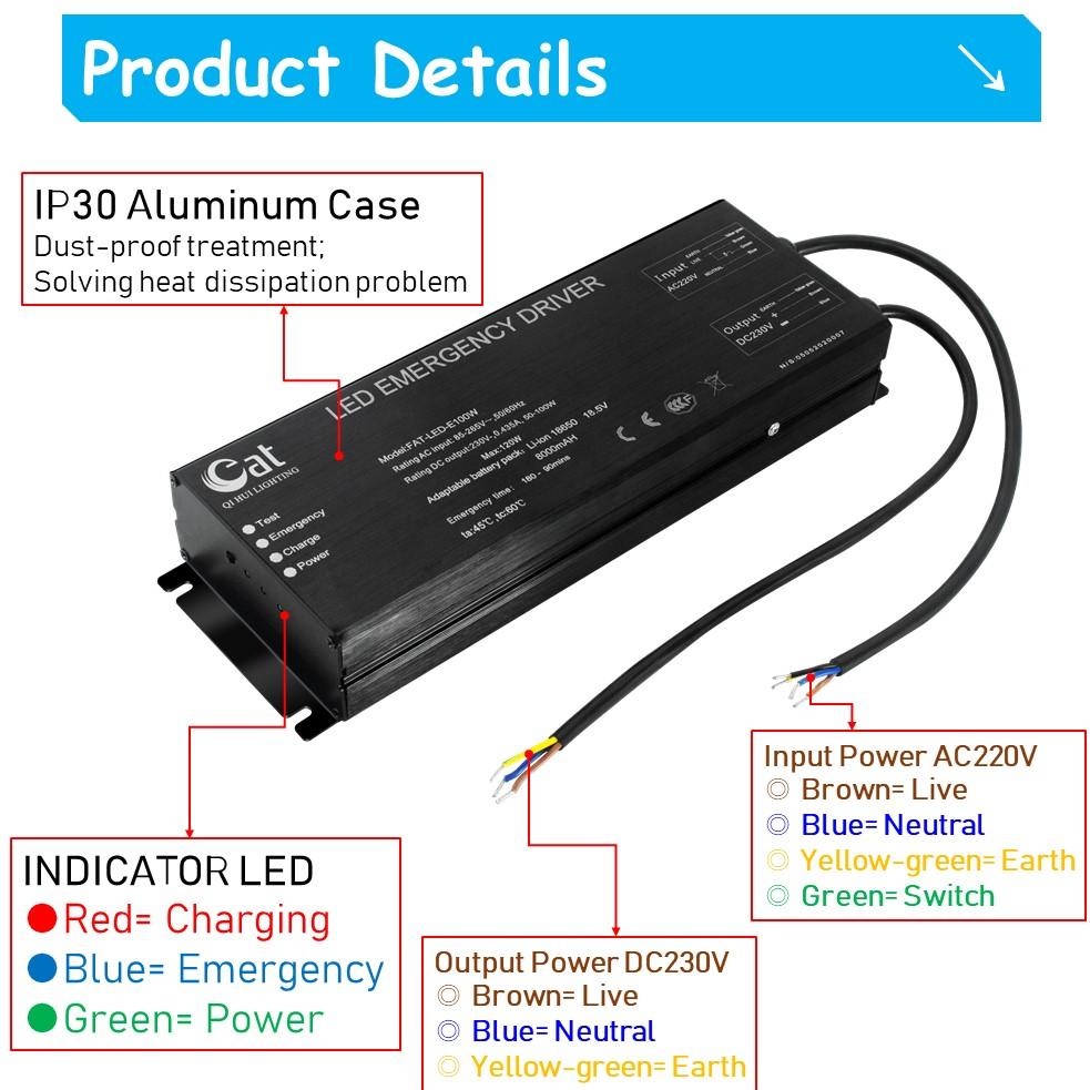 Battery Powered Backup Light