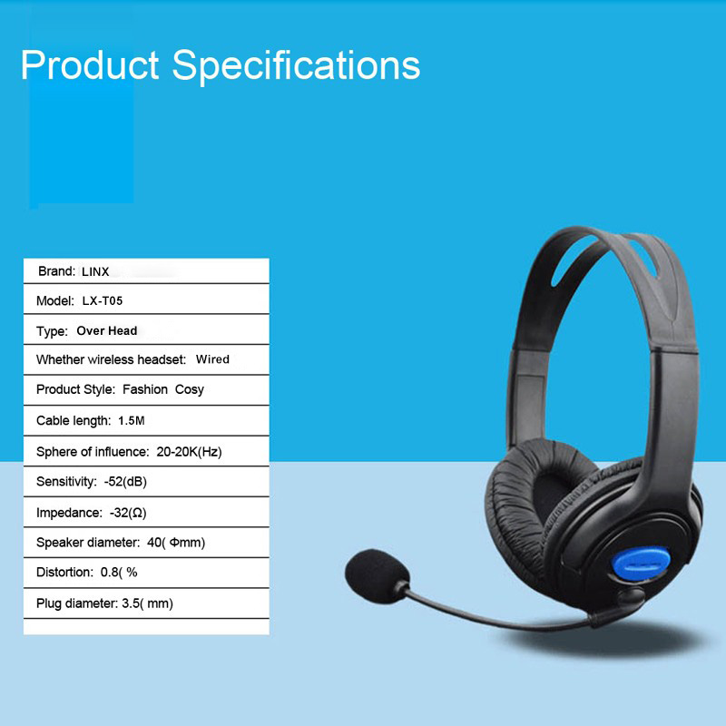 USB calling center headset