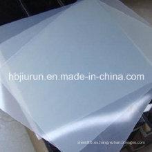 Hoja de goma de silicona, láminas de goma Q, láminas de silicona hechas con 100% de silicona virgen sin olor
