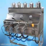liquid image silver spray on chrome metal plating machine for Bumber