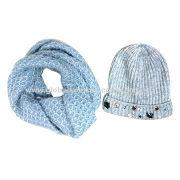 Winter lus sjaal, gebreide door mohair, voor dames
