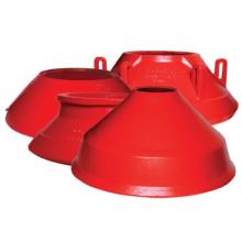 Liners de desgaste para trituradores de cone Metso (HP300 / HP400 / HP4 / HP500)
