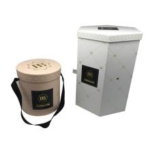 Wholesale Luxury Round Hat Flower Box