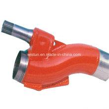 Компания sany бетононасос запасных частей Клапан трубы для Тележк-установленный конкретный насос