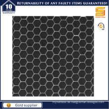 Schwarz / Weiß Sechskant Keramik Mosaik