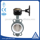 wcb wafer ptfe lined butterfly valve