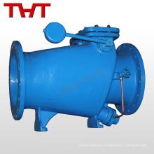 Válvula de retención de la válvula de retención de la línea de aire con brida de disco de goma de cierre lento