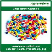 Capsules de glucosamine certifiées GMP de haute qualité