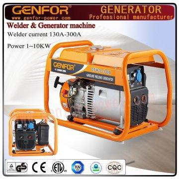 中国工場から200A 5kwガソリン溶接発電機