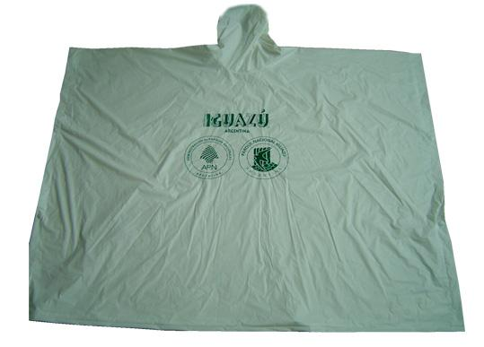 Light Green Waterproof pvc Poncho