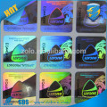 Étiquette de ruban de sécurité holographique personnalisée pour étiquette d'hologramme Brand Protection / Tamper proof