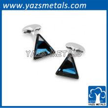 Blue stone Trident Cufflinks