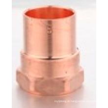 Adaptador de cobre cobre fêmea adaptador C * F