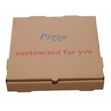 Caixa de pizza com impressão de logotipo