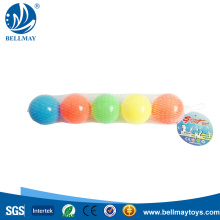 6CM PE Plastic Ocean Beach Ball Funny Toy For Kids